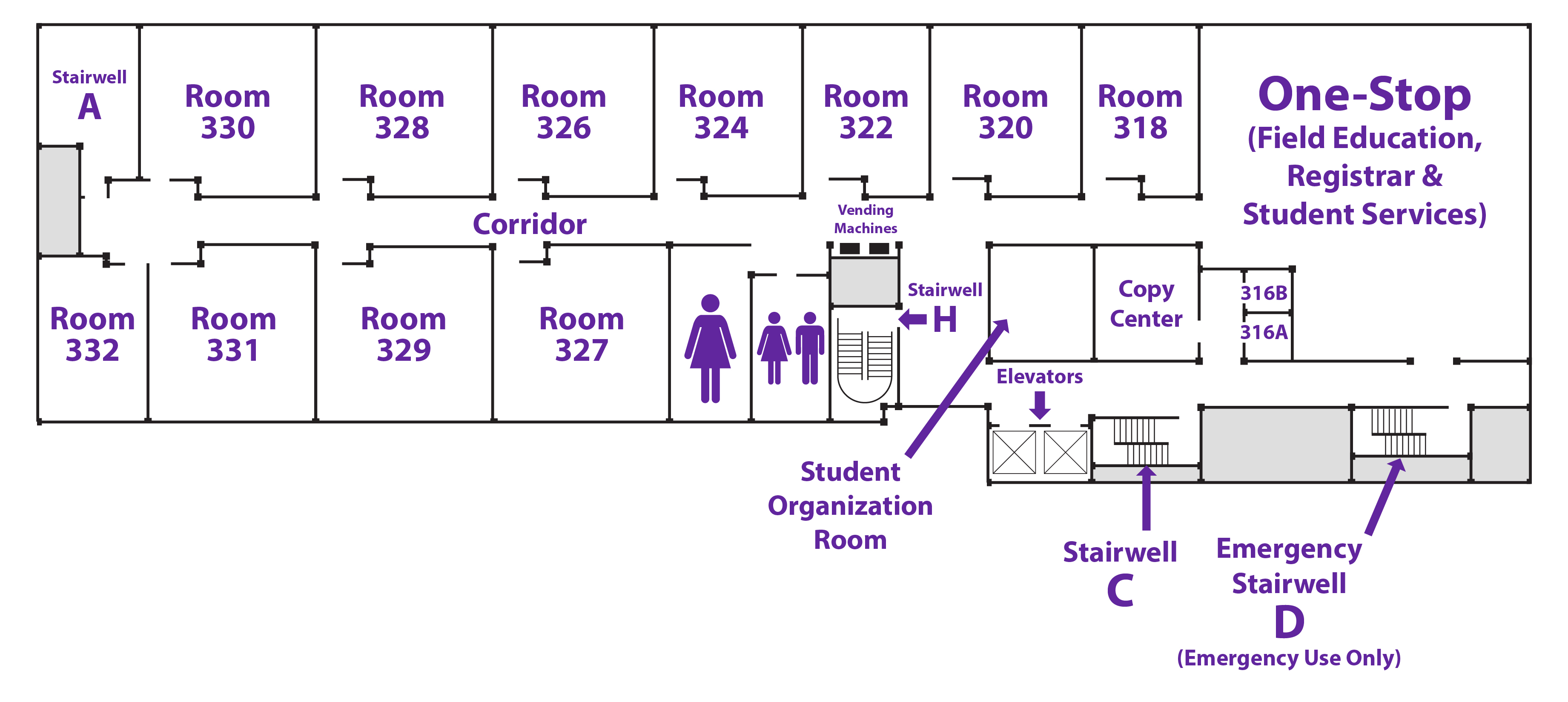 Campus Map Silberman School Of Social Work At Hunter College